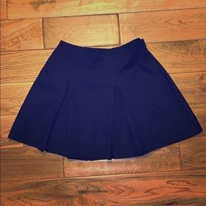 Vintage pleated uniforms girls skirt Navy G20